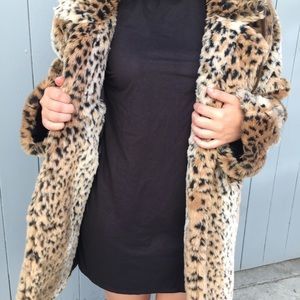 Brandy Melville Mica Faux Fur Coat